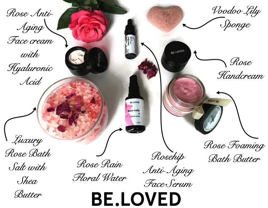 BE.LOVED rose